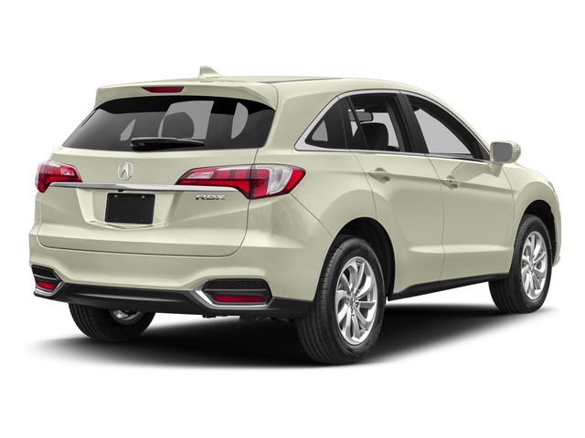 White Diamond Pearl 2017 Acura RDX Pictures RDX Utility 4D Technology 2WD V6 photos rear view