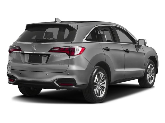 Lunar Silver Metallic 2017 Acura RDX Pictures RDX Utility 4D Advance AWD V6 photos rear view