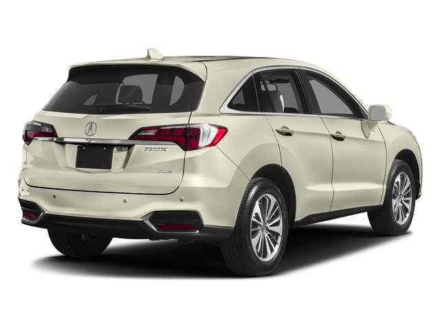 White Diamond Pearl 2017 Acura RDX Pictures RDX Utility 4D Advance AWD V6 photos rear view