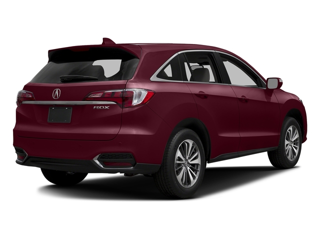 Basque Red Pearl II 2017 Acura RDX Pictures RDX FWD w/Advance Pkg photos rear view