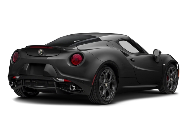 Black 2017 Alfa Romeo 4C Coupe Pictures 4C Coupe photos rear view