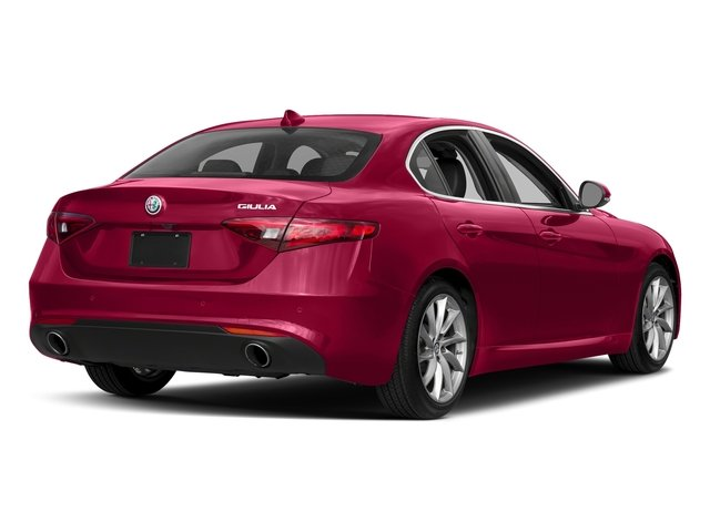 Rosso Alfa 2017 Alfa Romeo Giulia Pictures Giulia AWD photos rear view