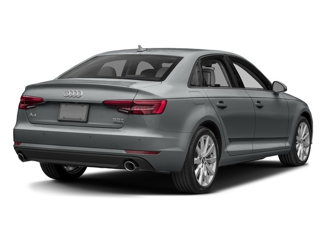 Monsoon Gray Metallic 2017 Audi A4 Pictures A4 Sedan 4D 2.0T Premium AWD photos rear view