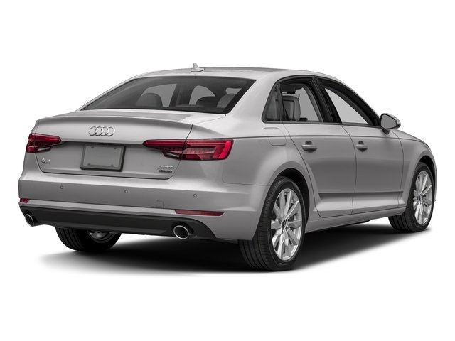 Florett Silver Metallic 2017 Audi A4 Pictures A4 2.0 TFSI Auto Season of Audi ultra Premium FWD photos rear view