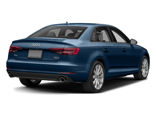 Scuba Blue Metallic 2017 Audi A4 Pictures A4 Sedan 4D 2.0T Premium AWD photos rear view