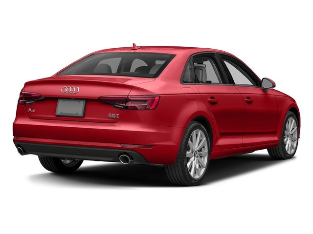 Tango Red Metallic 2017 Audi A4 Pictures A4 2.0 TFSI Auto Season of Audi ultra Premium FWD photos rear view