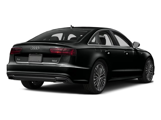 Mythos Black Metallic 2017 Audi A6 Pictures A6 3.0 TFSI Premium Plus quattro AWD photos rear view