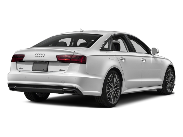 Glacier White Metallic 2017 Audi A6 Pictures A6 Sedan 4D 2.0T Premium AWD photos rear view