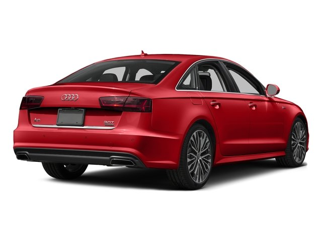 Matador Red Metallic 2017 Audi A6 Pictures A6 3.0 TFSI Premium Plus quattro AWD photos rear view