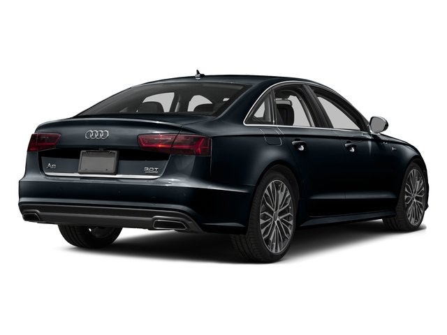 Moonlight Blue Metallic 2017 Audi A6 Pictures A6 3.0 TFSI Premium Plus quattro AWD photos rear view