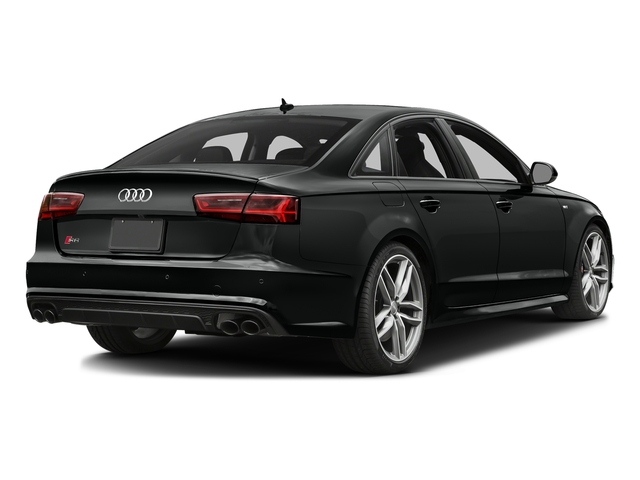 Mythos Black Metallic 2017 Audi S6 Pictures S6 4.0 TFSI Prestige photos rear view