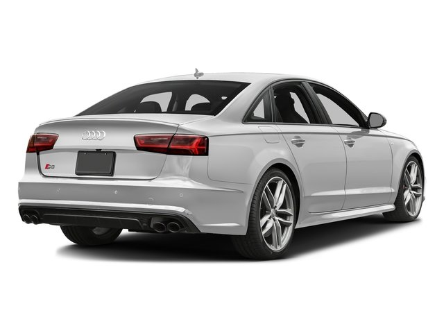 Glacier White Metallic 2017 Audi S6 Pictures S6 4.0 TFSI Prestige photos rear view