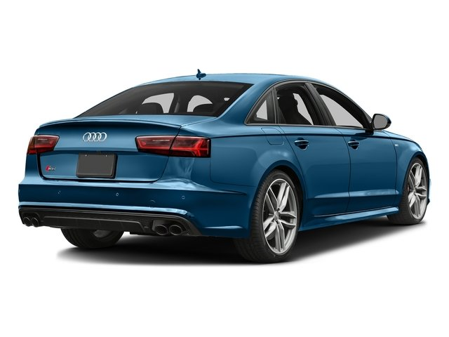 Sepang Blue Pearl Effect 2017 Audi S6 Pictures S6 4.0 TFSI Prestige photos rear view