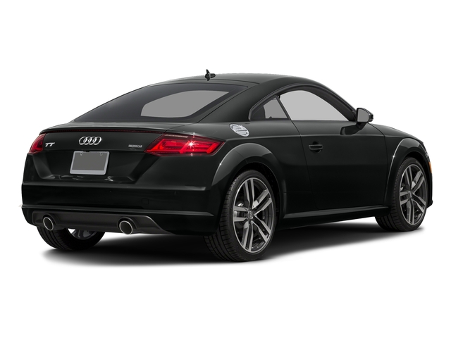 Mythos Black Metallic 2017 Audi TT Coupe Pictures TT Coupe 2D AWD photos rear view