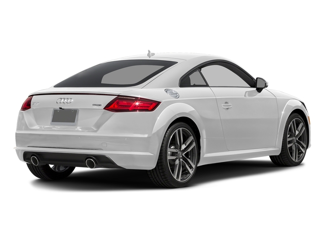 Glacier White Metallic 2017 Audi TT Coupe Pictures TT Coupe 2D AWD photos rear view