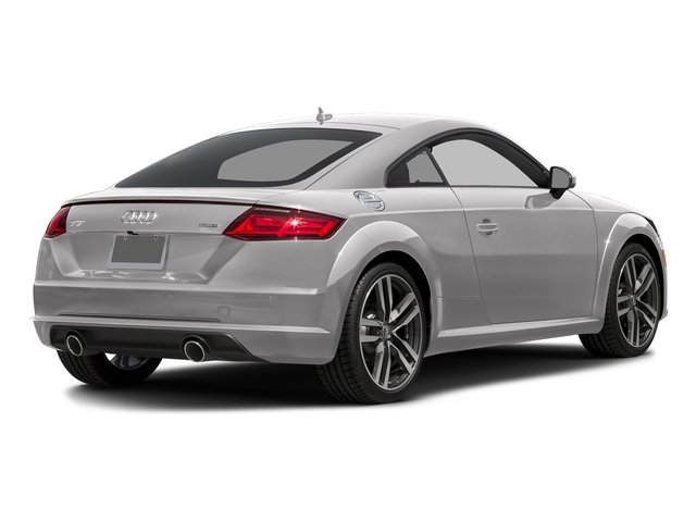 Florett Silver Metallic 2017 Audi TT Coupe Pictures TT Coupe 2D AWD photos rear view