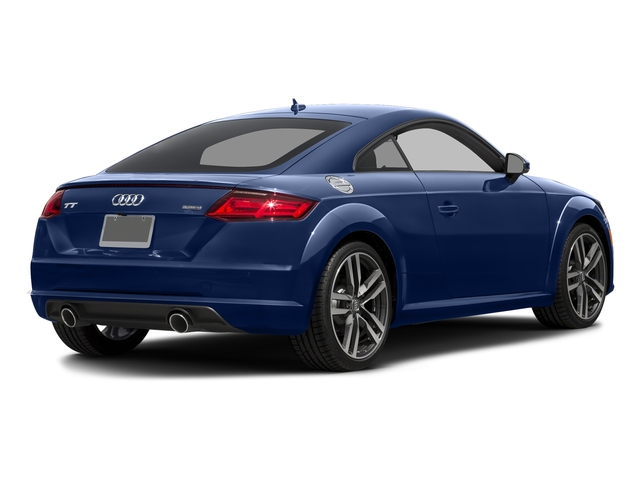 Scuba Blue Metallic 2017 Audi TT Coupe Pictures TT Coupe 2D AWD photos rear view