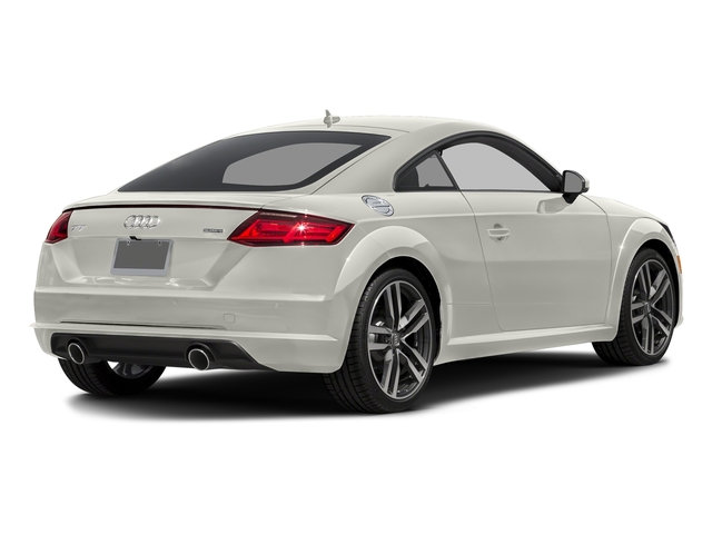 Ibis White 2017 Audi TT Coupe Pictures TT Coupe 2D AWD photos rear view