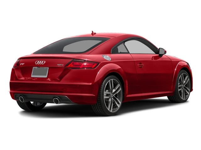 Tango Red Metallic 2017 Audi TT Coupe Pictures TT Coupe 2D AWD photos rear view