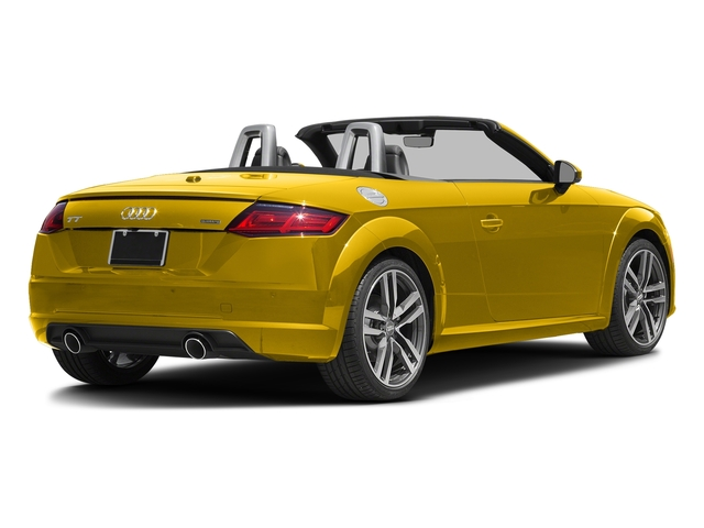 Vegas Yellow/Black Roof 2017 Audi TT Roadster Pictures TT Roadster 2.0 TFSI photos rear view
