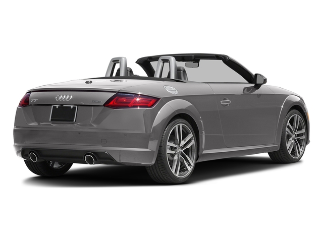 Florett Silver Metallic/Black Roof 2017 Audi TT Roadster Pictures TT Roadster 2.0 TFSI photos rear view