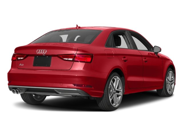 Tango Red Metallic 2017 Audi A3 Sedan Pictures A3 Sedan 2.0 TFSI Prestige quattro AWD photos rear view