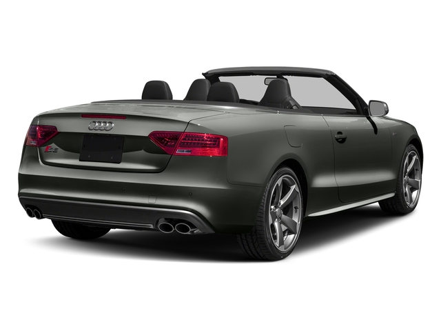 Daytona Gray Pearl Effect/Black Roof 2017 Audi S5 Cabriolet Pictures S5 Cabriolet Convertible 2D S5 Premium Plus AWD photos rear view