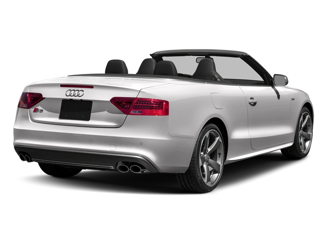 Florett Silver Metallic/Black Roof 2017 Audi S5 Cabriolet Pictures S5 Cabriolet Convertible 2D S5 Premium Plus AWD photos rear view