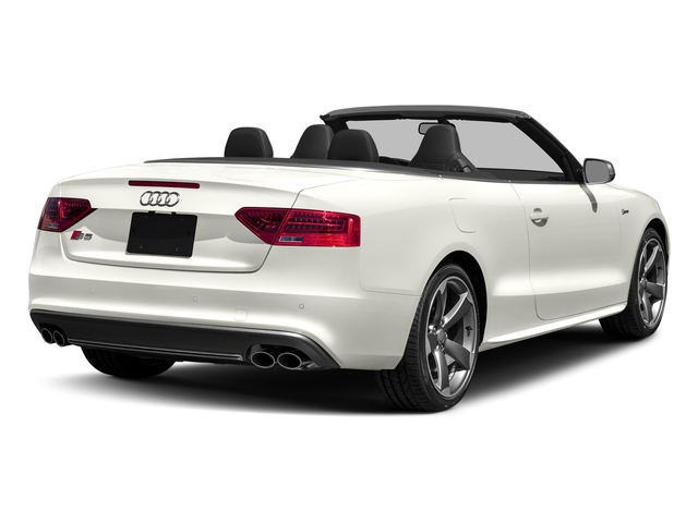 Ibis White/Black Roof 2017 Audi S5 Cabriolet Pictures S5 Cabriolet Convertible 2D S5 Premium Plus AWD photos rear view