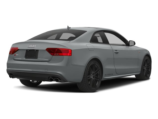 Monsoon Gray Metallic 2017 Audi S5 Coupe Pictures S5 Coupe 3.0 TFSI S Tronic photos rear view
