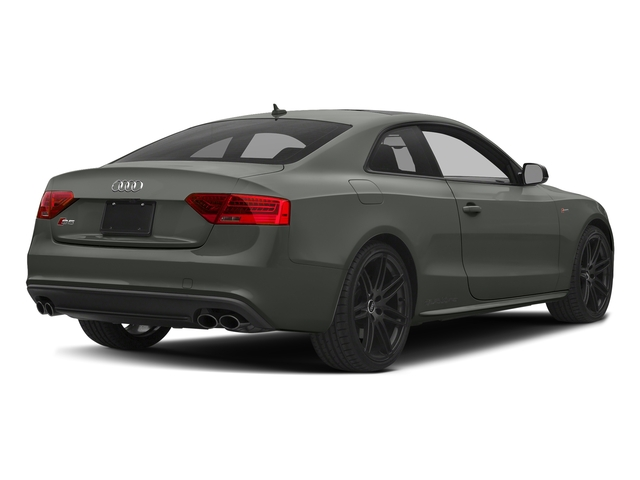 Daytona Gray Pearl Effect 2017 Audi S5 Coupe Pictures S5 Coupe 3.0 TFSI S Tronic photos rear view