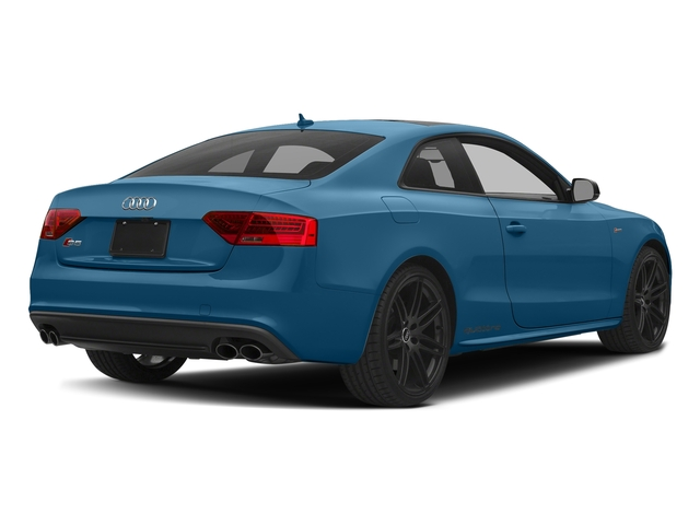 Sepang Blue Pearl Effect 2017 Audi S5 Coupe Pictures S5 Coupe 3.0 TFSI S Tronic photos rear view