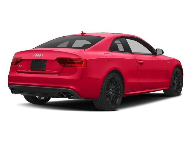 Misano Red Pearl Effect 2017 Audi S5 Coupe Pictures S5 Coupe 3.0 TFSI S Tronic photos rear view