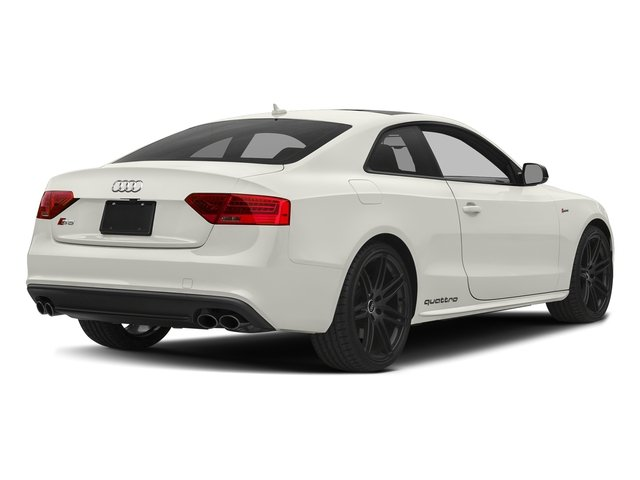 Ibis White 2017 Audi S5 Coupe Pictures S5 Coupe 3.0 TFSI S Tronic photos rear view