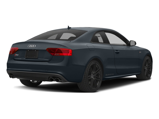 Moonlight Blue Metallic 2017 Audi S5 Coupe Pictures S5 Coupe 3.0 TFSI S Tronic photos rear view
