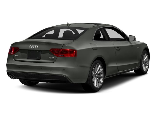 Daytona Gray Pearl Effect 2017 Audi A5 Coupe Pictures A5 Coupe 2.0 TFSI Sport Tiptronic photos rear view
