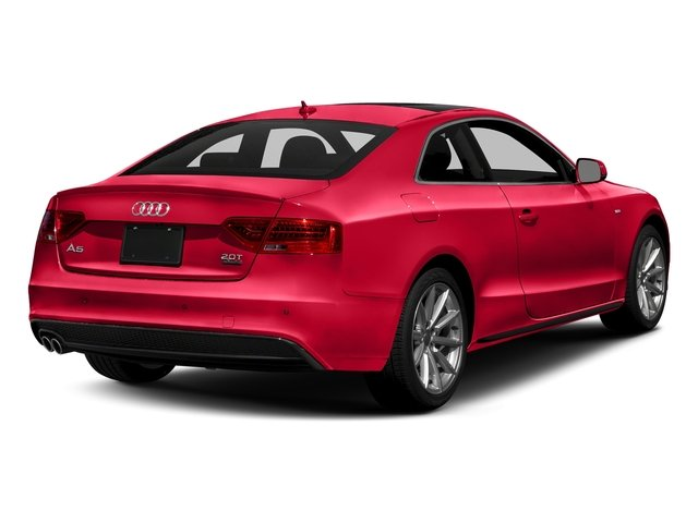 Misano Red Pearl Effect 2017 Audi A5 Coupe Pictures A5 Coupe 2.0 TFSI Sport Manual photos rear view