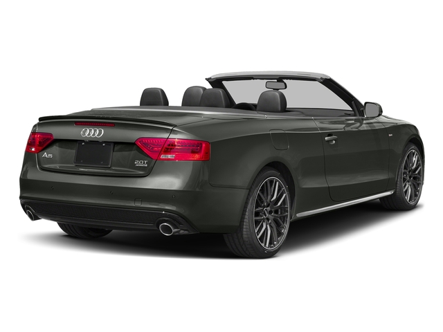 Daytona Gray Pearl Effect/Black Roof 2017 Audi A5 Cabriolet Pictures A5 Cabriolet Convertible 2D Sport AWD photos rear view