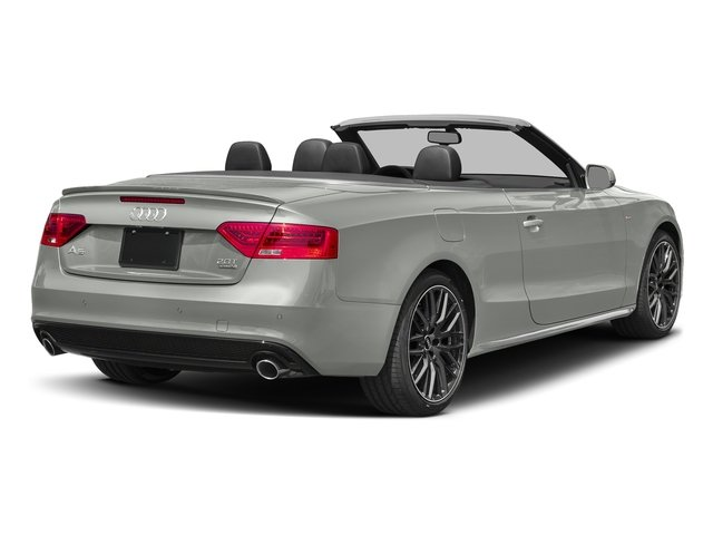 Suzuka Gray Metallic/Black Roof 2017 Audi A5 Cabriolet Pictures A5 Cabriolet Convertible 2D Sport AWD photos rear view