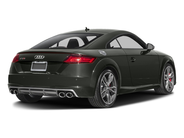 Daytona Gray Pearl Effect 2017 Audi TTS Pictures TTS Coupe 2D AWD photos rear view