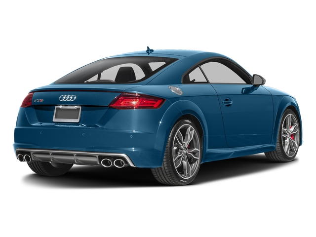 Sepang Blue Pearl Effect 2017 Audi TTS Pictures TTS Coupe 2D AWD photos rear view