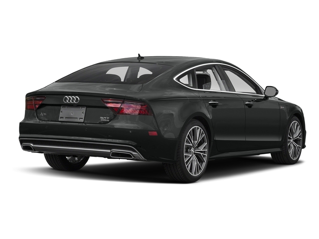 Mythos Black Metallic 2017 Audi A7 Pictures A7 3.0 TFSI Competition Prestige photos rear view