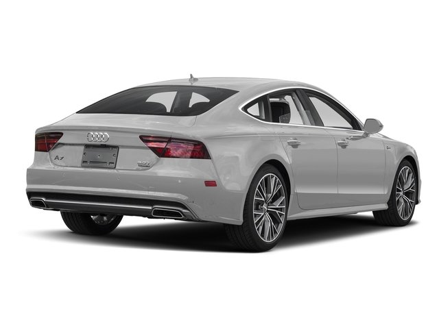 Glacier White Metallic 2017 Audi A7 Pictures A7 Sedan 4D Competition Prestige AWD photos rear view