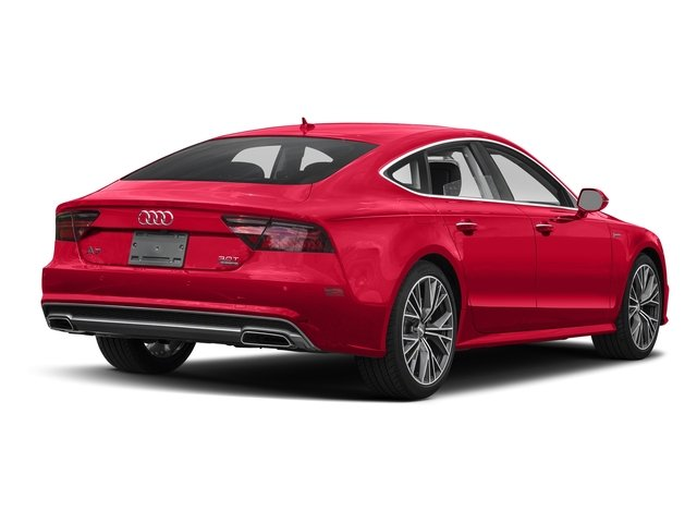 Misano Red Pearl Effect 2017 Audi A7 Pictures A7 3.0 TFSI Competition Prestige photos rear view