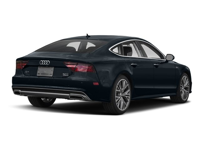 Moonlight Blue Metallic 2017 Audi A7 Pictures A7 3.0 TFSI Competition Prestige photos rear view