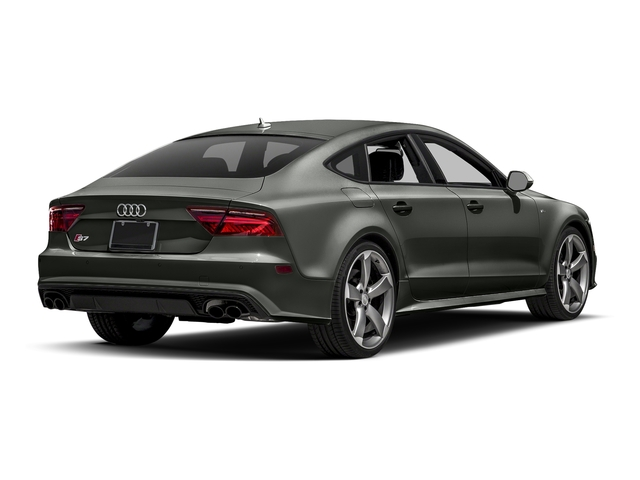 Daytona Gray Pearl Effect 2017 Audi S7 Pictures S7 Sedan 4D S7 Prestige AWD photos rear view