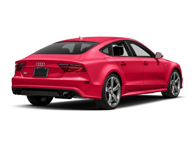 Misano Red Pearl Effect 2017 Audi S7 Pictures S7 Sedan 4D S7 Prestige AWD photos rear view