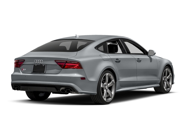 Tornado Gray Metallic 2017 Audi S7 Pictures S7 Sedan 4D S7 Prestige AWD photos rear view