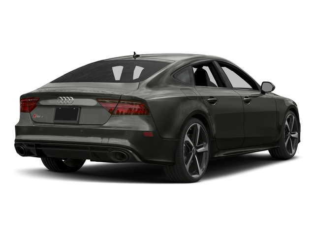 Daytona Gray Pearl Effect 2017 Audi RS 7 Pictures RS 7 Sedan 4D RS7 Performance AWD photos rear view