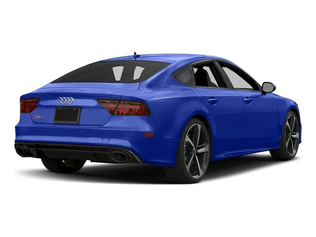 Ascari Blue Metallic 2017 Audi RS 7 Pictures RS 7 Sedan 4D RS7 Performance AWD photos rear view